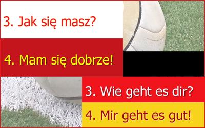 Vocabulary German-Polish